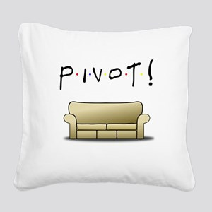 Friends Ross Pivot! Square Canvas Pillow
