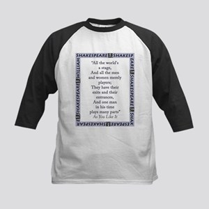 All The Worlds A Stage Kids Baseball Tee