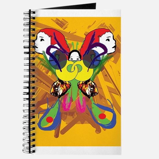 Psychedelic Butterfly Journal