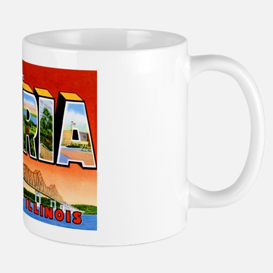 Peoria Illinois Greetings Mug