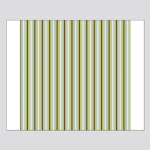 Woodland Stripes Small Poster