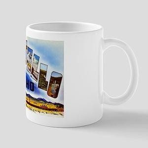 Pocatello Idaho Greetings Mug
