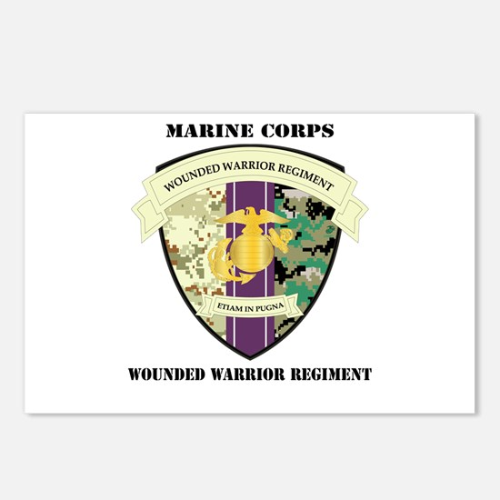 Marine Corps Wounded Warrior Regiment with Text Po