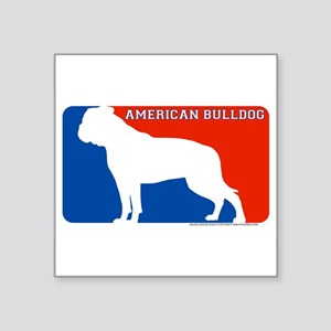 """American Bulldog"" MLD Rectangle Sticker"