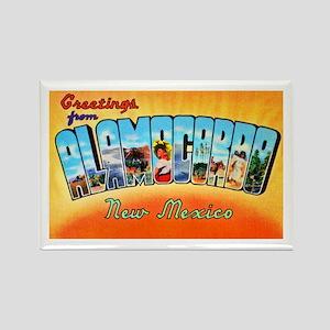 Alamogordo New Mexico Greetings Rectangle Magnet