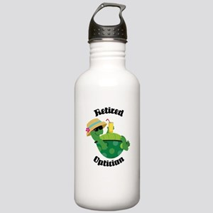 Retired Optician Gift Stainless Water Bottle 1.0L