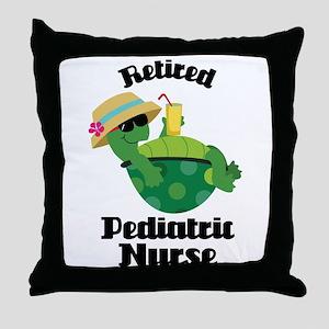 Retired Pediatric Gift Throw Pillow
