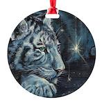 Burning Bright Round Ornament