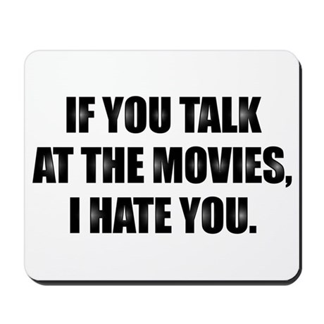 At the Movies - Mousepad