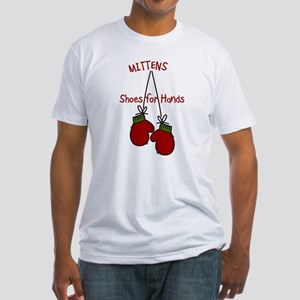 Shoes For Hands Fitted T-Shirt