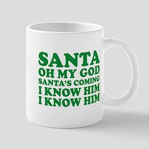 Santa Oh My God Mug