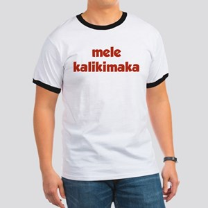 Mele Kalikimaka Ringer T