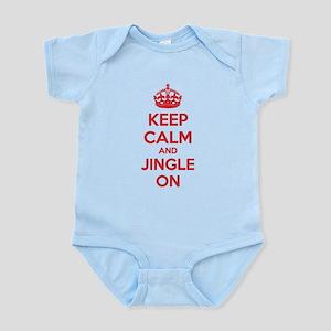 Keep calm and jingle on Infant Bodysuit