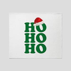 Ho Ho Ho Throw Blanket