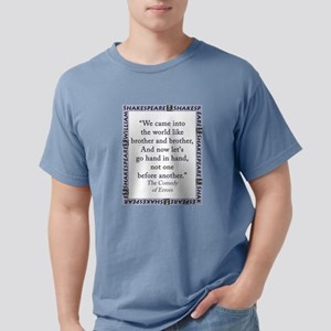 We Came Into The World Mens Comfort Colors Shirt