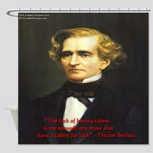 Hector Berlioz Shower Curtain