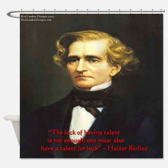 Hector Berlioz Shower Curtain