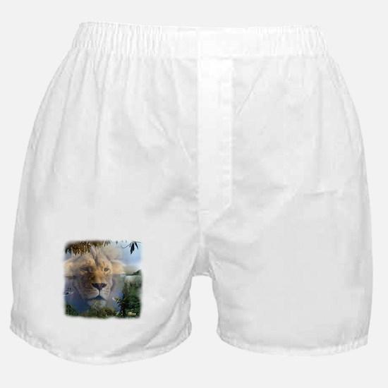lionlamb.jpg Boxer Shorts