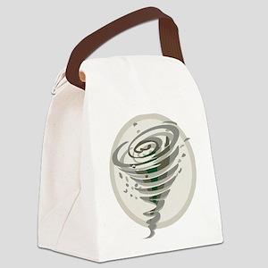 Tornado Canvas Lunch Bag