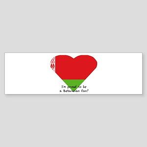 Belarusian flag Bumper Sticker