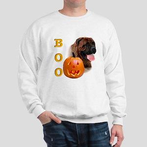 Halloween Bullmastiff Boo Sweatshirt