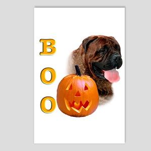 Halloween Bullmastiff Boo Postcards (Package of 8)