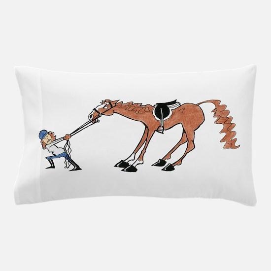 Equus Non-Cooperativus Pillow Case