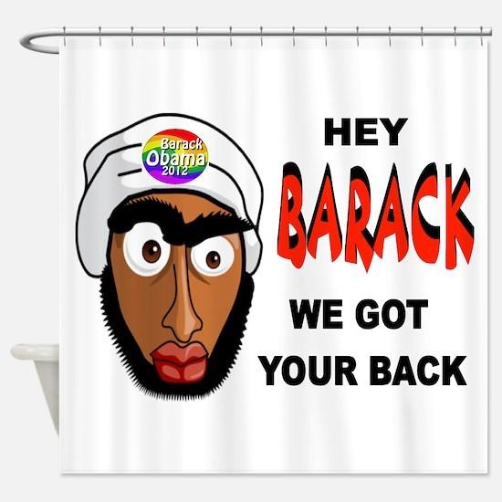 BARACK BUDDY Shower Curtain