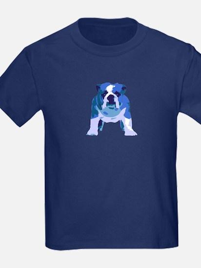 English Bulldog Pop Art T