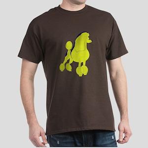 Poodle Pop Art Dog Dark T-Shirt
