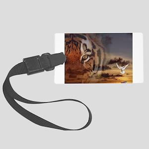Tiger Spirit Large Luggage Tag