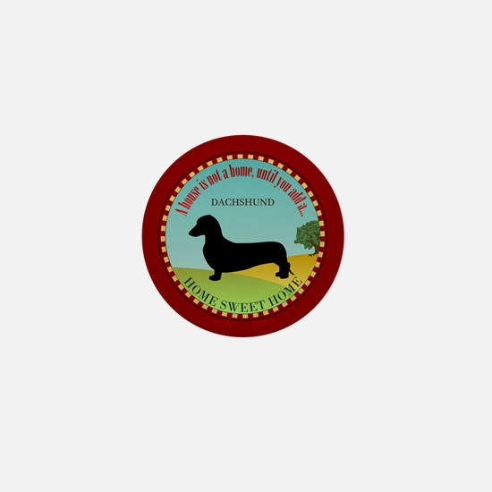 Dachshund [smooth] Mini Button