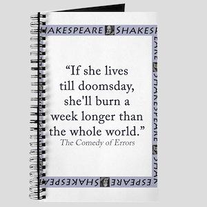 If She Lives Till Doomsday Journal