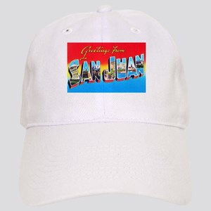 San Juan Puerto Rico Greetings Cap