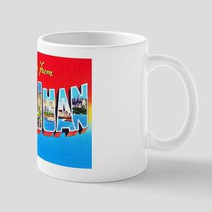 San Juan Puerto Rico Greetings Mug