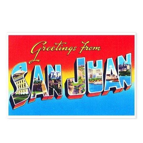 San juan puerto rico greetings postcards package by w2arts san juan puerto rico greetings postcards package m4hsunfo