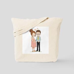 We're Pregnant Tote Bag