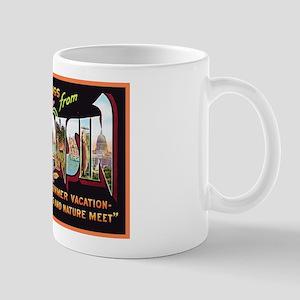 Wisconsin Greetings Mug