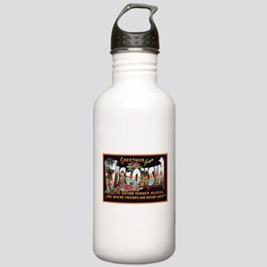 Wisconsin Greetings Stainless Water Bottle 1.0L