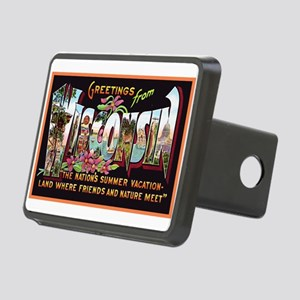 Wisconsin Greetings Rectangular Hitch Cover