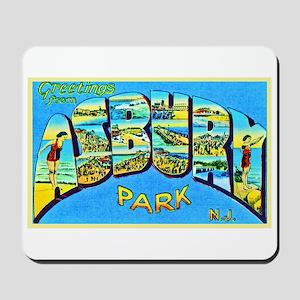 Asbury Park New Jersey Mousepad