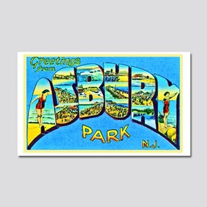 Asbury Park New Jersey Car Magnet 20 x 12