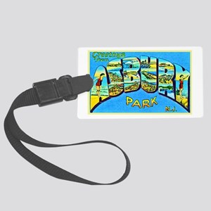 Asbury Park New Jersey Large Luggage Tag