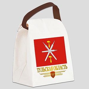 Tula Oblast Flag Canvas Lunch Bag