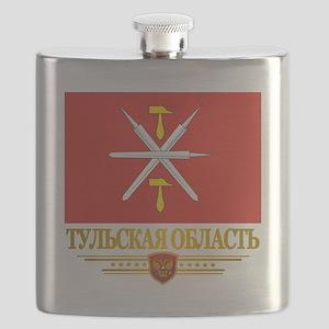 Tula Oblast Flag Flask