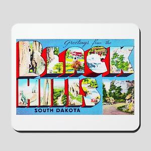 Black Hills South Dakota Mousepad