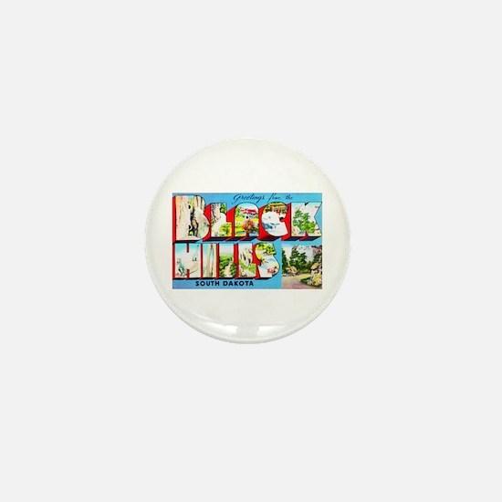 Black Hills South Dakota Mini Button