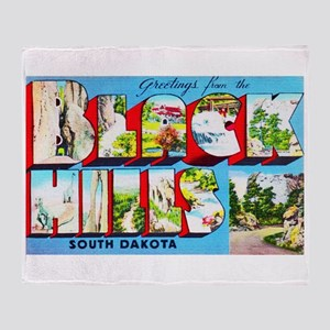 Black Hills South Dakota Throw Blanket
