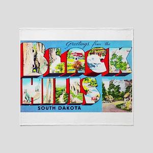 Black Hills South Dakota Throw Blanket