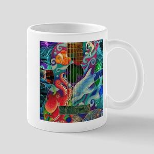 Ocean guitar Mug